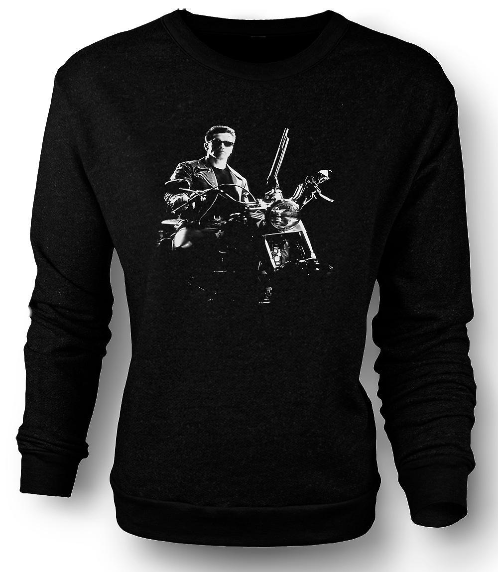 Mens Sweatshirt Terminator - Schwarzenegger - film
