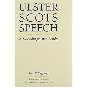Ulster Scots tal - en sociolingvistisk studie av Rona K. Kingsmore - 9
