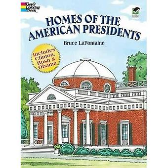 Maisons des Co présidents américains (histoire de Dover Coloring Book)