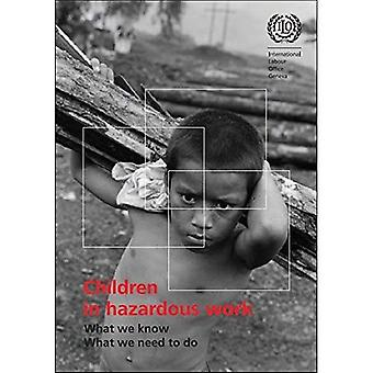 Children in Hazardous Work: What We Know, What We Need to Do