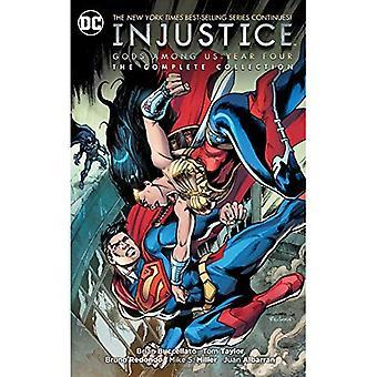 Injustiça: Deuses entre nós quatro: A coleção completa