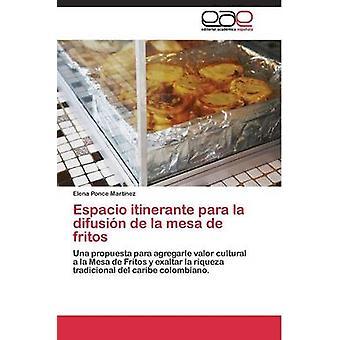 ポンセ Martnez エレナの fritos のラ difusin デ ラ メサ ・ デ ・ エスパシオ itinerante パラ