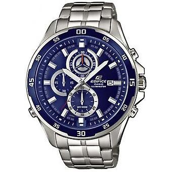 Casio-EFR-547-D-2AVUEF - Uhr Runde blaue Multifunktions-Mann