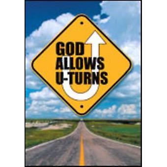 God Allows U-Turns (Pack of 25) by Allison Gappa Bottke - 97816821606