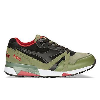 Diadora Multicolor Leather Sneakers