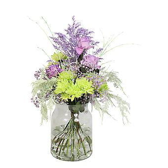 Bunch of flowers - mint | Height: 60 cm