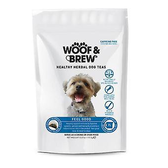 Woof & Brew sentire buon cane tonico - giorno 7 bustine di tè