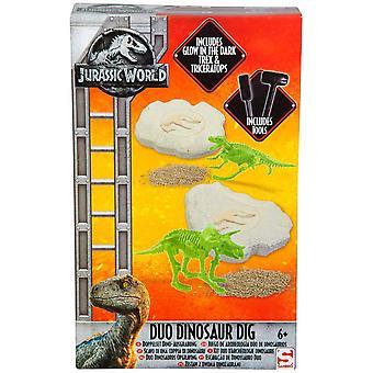 Jurassic World Duo Dinosaur Dig Set