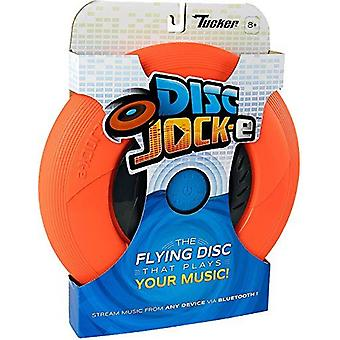 Disc Jock-E - The Flying Disc That Plays Your Music - Orange