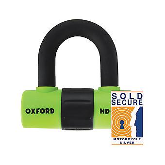 Oxford Green HD Max Motorcycle Lock