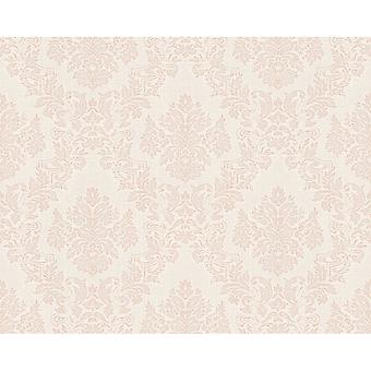 A.S. Creation AS Creation Classic Baroque Damask Pattern Floral Motif Textured Fond d'écran 304955