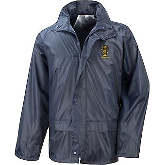 Royal Scots Fusiliers Veteran - Licensed British Army Embroidered Waterproof Rain Jacket