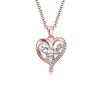 Elli Silber Anhänger Halskette 0110120317_45