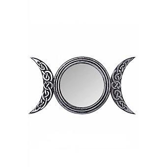 Alchemy Gothic Triple Moon Mirror