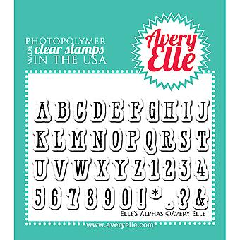 Avery Elle Clear Stamp Set 2