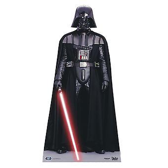 Darth Vader - Star Wars Mini cartulina recorte / pie