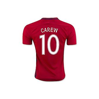 2016-17 Norway Home Shirt (Carew 10)