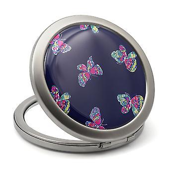 Fjärilar kompakt spegel