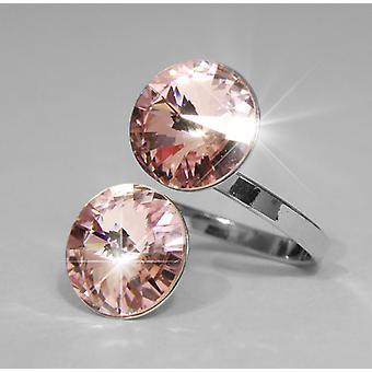 Anello con cristalli di Swarovski ametista 2 RMB 2.3