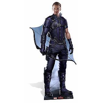 Hawkeye Marvel Lifesize pap påklædningsdukke / Standee / står