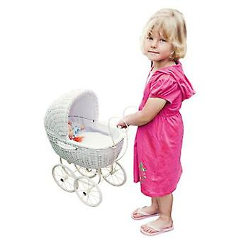 Legler White Canastero Dolls Pram (Toys , Dolls And Accesories , Baby Dolls , Strollers)