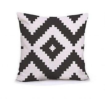 Wellindal Kilim Cushion Cover 45X45 Cotton Style Whiak