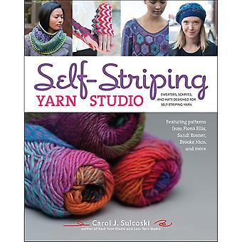 Lark Books-Self-Striping Yarn Studio LB-9367