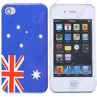 Handyhülle für IPhone 4/4 s-Australien Flagge