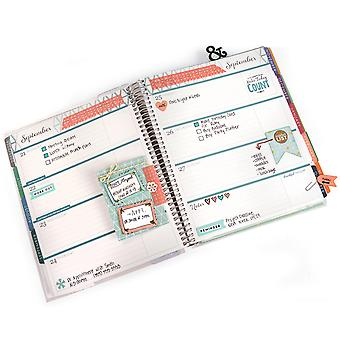 Sizzix Framelits Dies W/Stamps-Make Today Count 661256