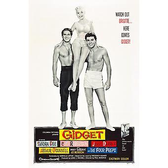 ギジェット クリフ ・ ロバートソン サンドラ ・ ディー ジェームズ ・ ダレン 1959 映画ポスター Masterprint
