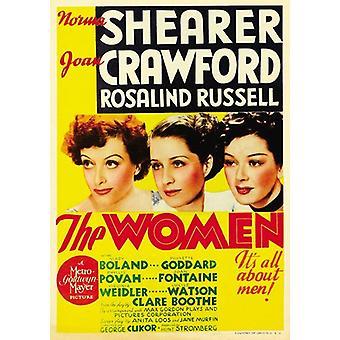 Плакат фильма женщин (11 x 17)