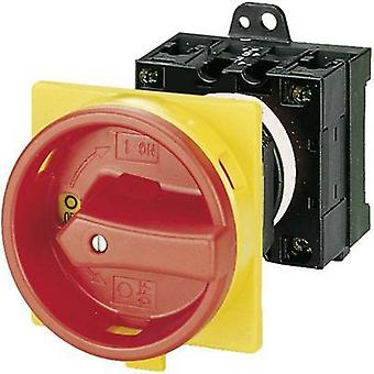 Limit switch lockable 20 A 1 x 90 ° Red, Yellow