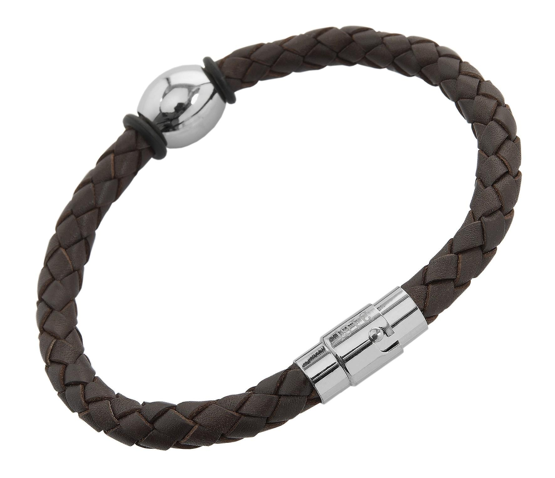 Burgmeister Leather bracelet, JBM4015-765