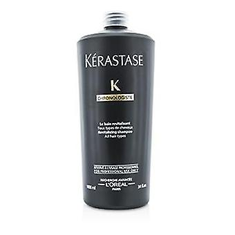 Kerastase Chronologiste Revitalizing Shampoo (for All Hair Types) - 1000ml/34oz