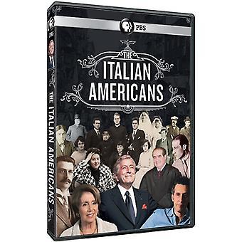 Italienske amerikanere [DVD] USA importerer