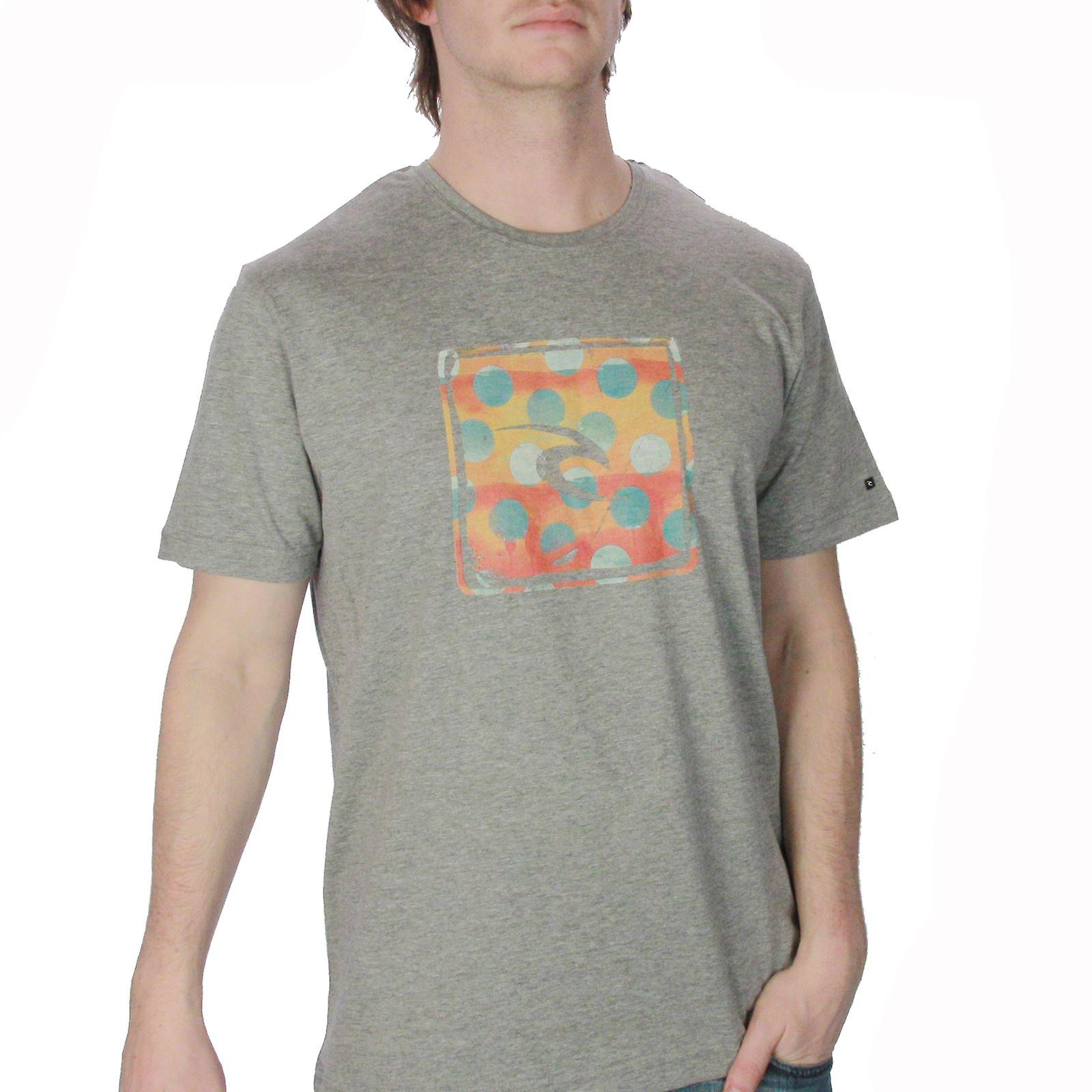 Rip Curl T-Shirt ~ Worn Fliter Grey