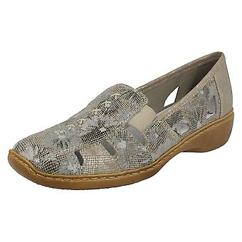 Ladies Rieker Slip On Shoes 41385