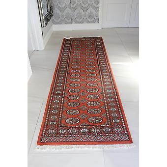 Spice Red Pakistan Bokhara Oriental Runner Rug