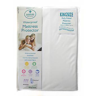 Wet Guard Waterproof Mattress Protector, King Size