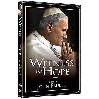 Vidne til håb [DVD] USA import