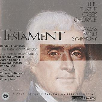 Testamente - Testamente [CD] USA importerer