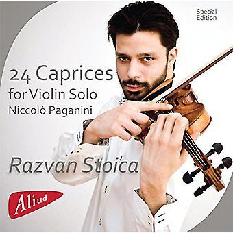 Paganini / Stoica, Razvan - 24 Caprices for Violin Solo [CD] USA import