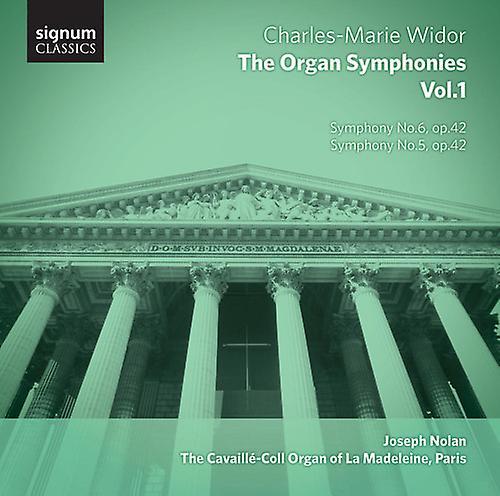 C.M. Widor - Charles-Marie Widor: The Organ Symphonies, Vol. 1 [CD] USA import