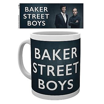 Sherlock Baker Street Boys Mug