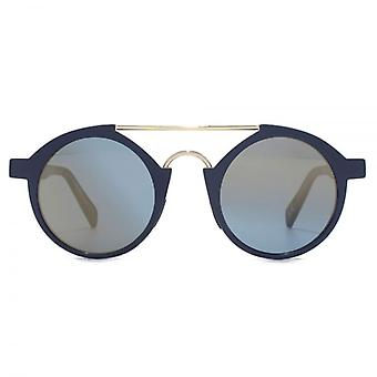 Italia Independent I-Plastic 0920 Sunglasses In Blue