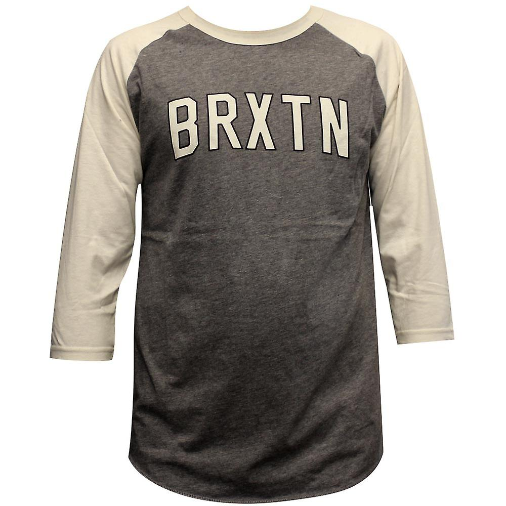 Brixton Hamilton T-Shirt Grey Cream