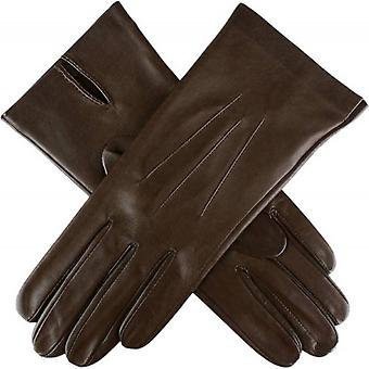 Dents Joanna Classic Unlined Hairsheep Leather Gloves - Mocca Brown