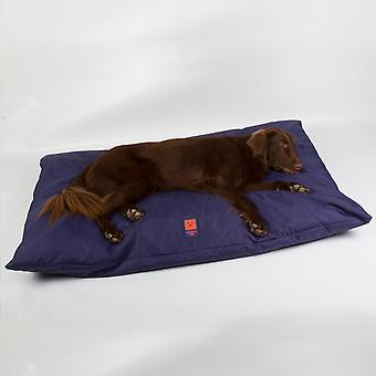 Ginger Ted Deep Cushion Waterproof Dog Bed  Navy with Removeable Washable Cover