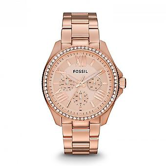 Fossil ladies watch wristwatch stainless steel Rosé AM4483 CÉCILE