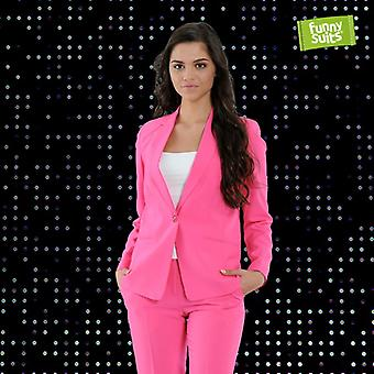 Pink women's suit Funnysuits Flamingogo 2 piece suit costume deluxe EU SIZES